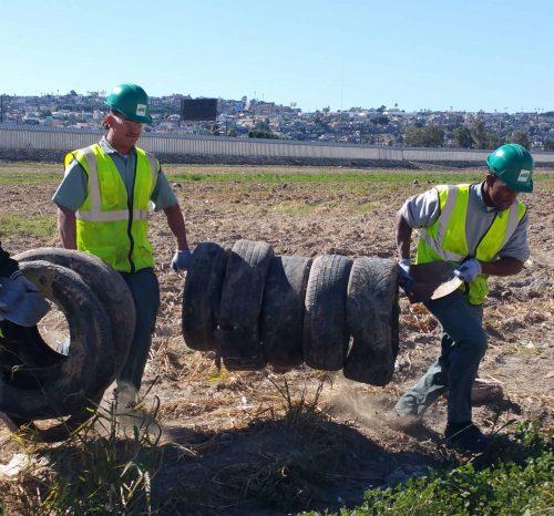 Urban Corps San Diego County Tire Recycling TJ